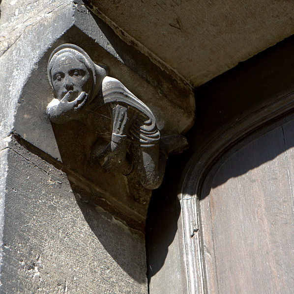 Silence cathedral carving