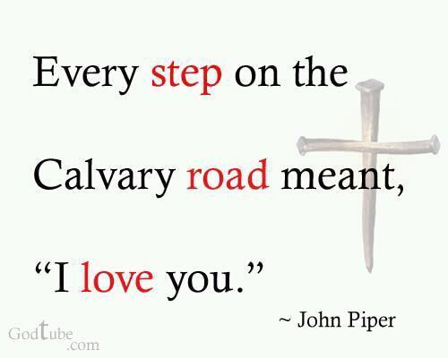 Calvary I love you